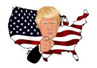 DONALD TRUMP FESTEGGIA LA CRESCITA USA